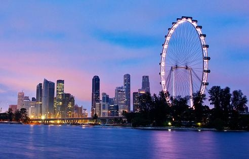 乌节路,珍宝海鲜,金沙酒店空中花园,克拉码头夜景 【牛车水】,新加坡